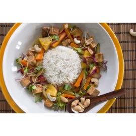 Köményes sertéssült libamáj szelettel, meggy raguval - libamáj recept