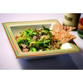 Füstölt lazacos, körtés libamáj saláta - libamáj recept